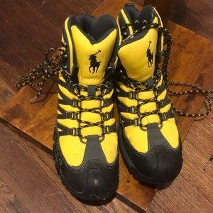 NEW designer men's boots Polo Ralph Lauren, 8.5